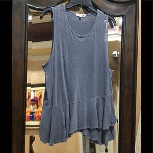 Sundry tank in blue/gray, size 0🥰